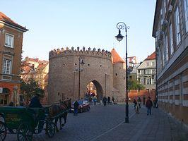 Barbakane Warschau