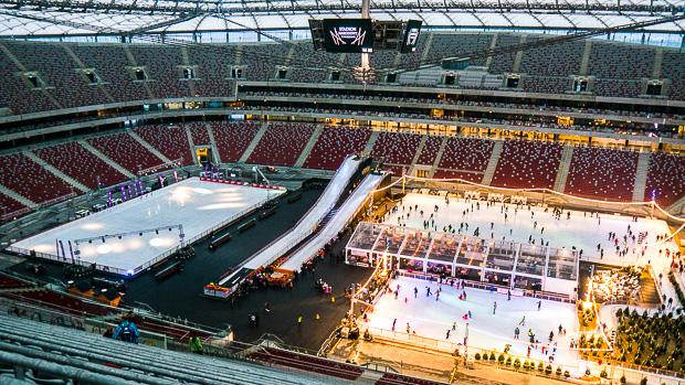 Eisbahn Nationalstadion Warschau