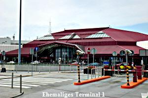 Ehemaliges Terminal 1 am Flughafen in Warschau