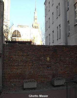 Ghetto Mauer Warschau