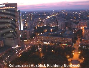 Kulturpalast Ausblick Richtung Nordwest