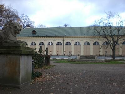 Lazienki Alte Orangerie