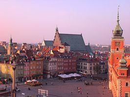 Schlossplatz Warschau