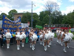 Schuman Parade Warschau