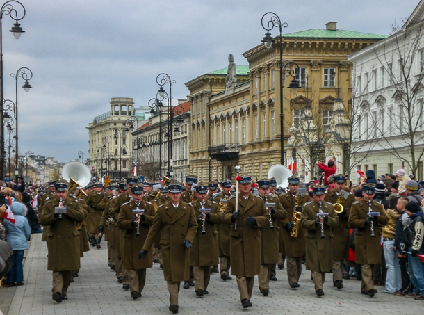Unabhängigkeitstag Warschau