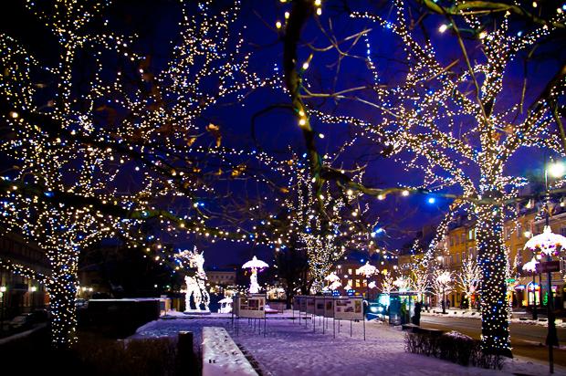 Warschauer Königsweg im Winter