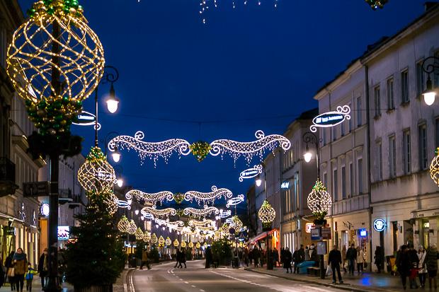 Winter Nowy Swiat Warschau