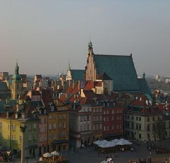 Altstadt Warschau Polen