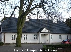 Frédéric Chopin Geburtshaus