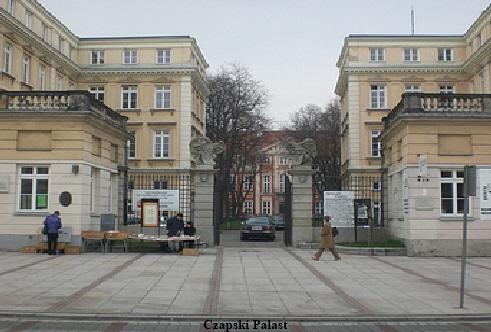 Czapski Palast