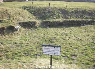 Czersk Ruine