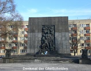 Denkmal der Ghettohelden