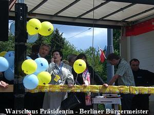 Warschaus Präsidentin - Berliner Bürgermeister