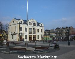 Sochaczew Marktplatz