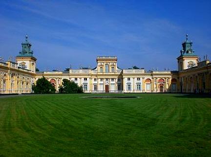 Wilanow Palast Warschau Polen