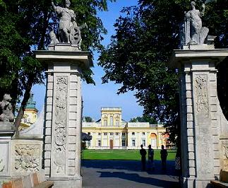 Palast von Wilanow in Warschau