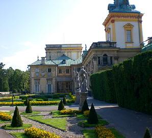 Wilanow Palast