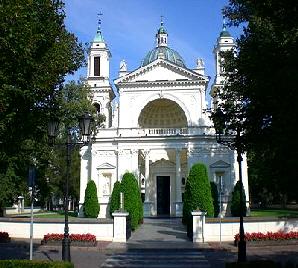 Wilanow Kirche Warschau