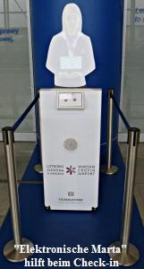 Marta Flughafen Warschau