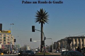 Palme Rondo de Gaulle Warschau