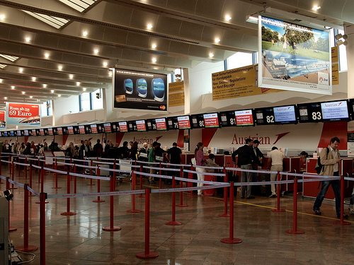 airport vienna photo