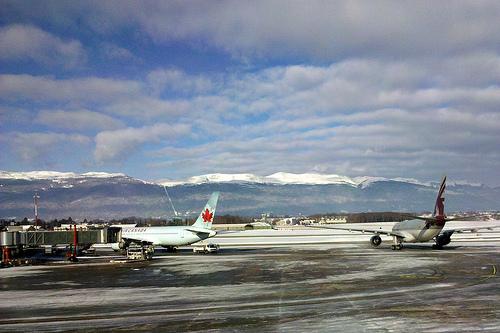 airport genf photo