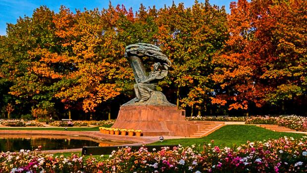 Chopin Denkmal