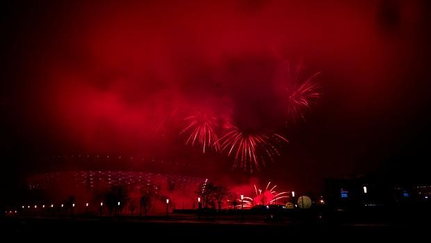 Silvesterfeier Warschau
