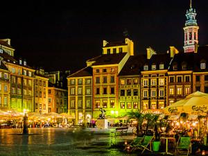 Marktplatz Altstadt in Warschau