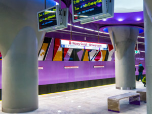 Metro Warschau Nowy Świat